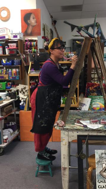 Heide Briggs, Art Instructor and Problem Solver Extraordinaire