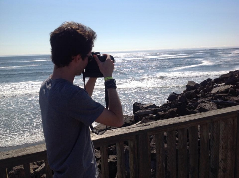 Getting some sunny day shots off the coasts of Oregon