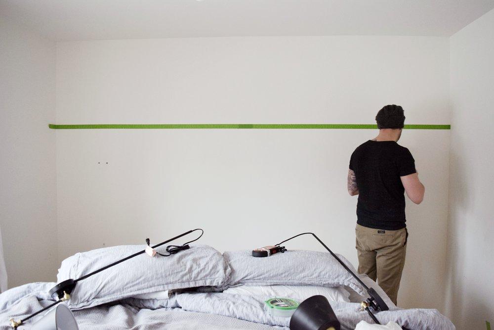DIY 3/4 Wall