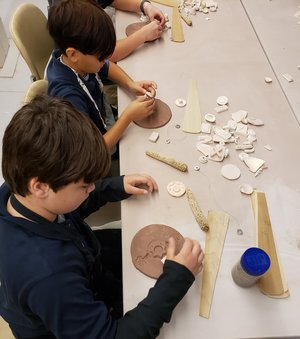 Intro to ceramics for Cub Scouts thumbnail