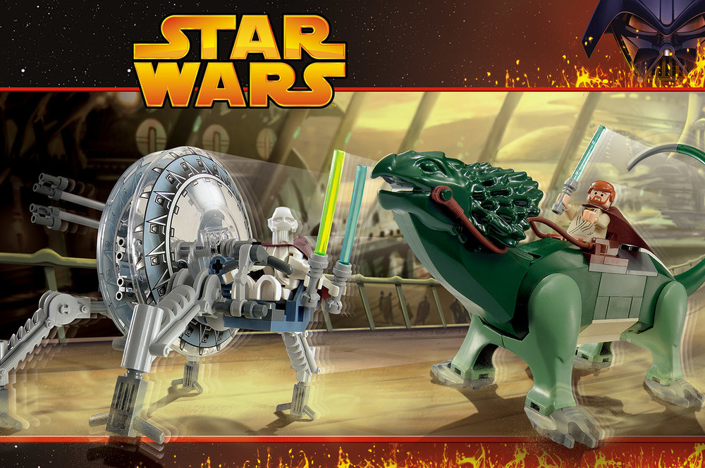 Lego Star Wars, Packaging