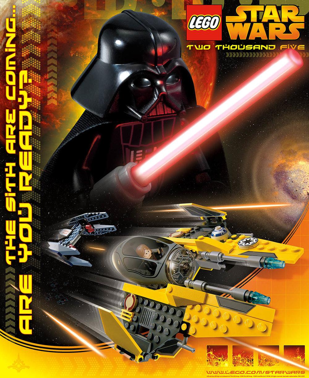 Lego Star Wars, Promotional