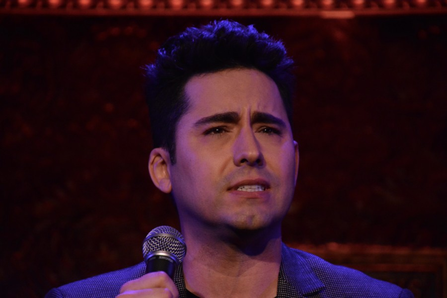 Jersey Boys John Lloyd Young Gets Up Close and Personal - Times Square Chronicles | April 25, 2018