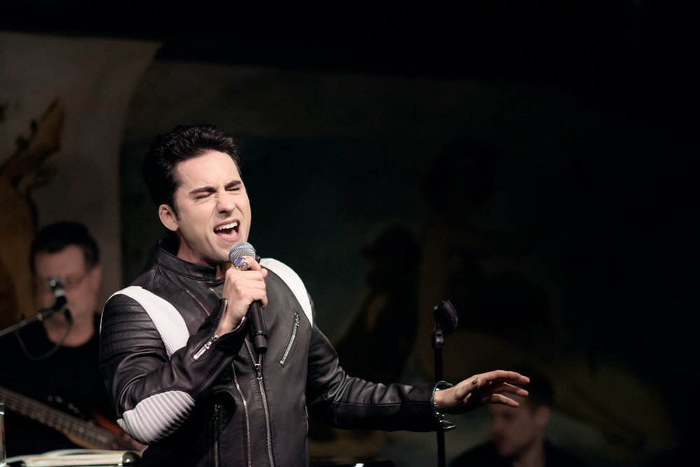 Review: John Lloyd Young, Stepping Out With Oldies Beyond the Four Seasons' - The New York Times | February 11, 2016