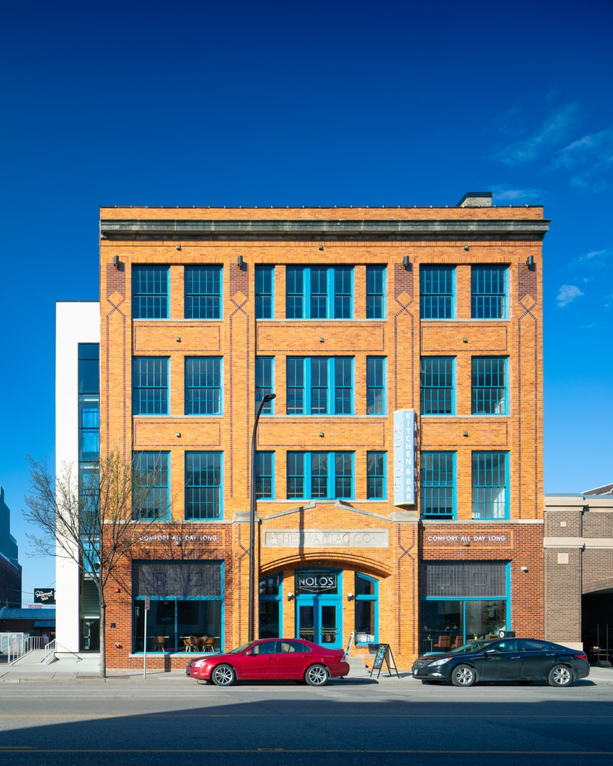 Maytag Building - AWH Architects with Saturday Properties, Frana, MBJ, Scott Peterson Construction, American Masonry, Midwest Window, Rebel Electric, Kone, Bridgewater Bank and Forterra Capital