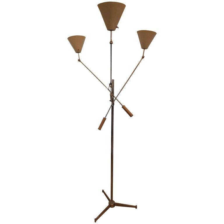 Triennale Floor Lamp by Arredoluce