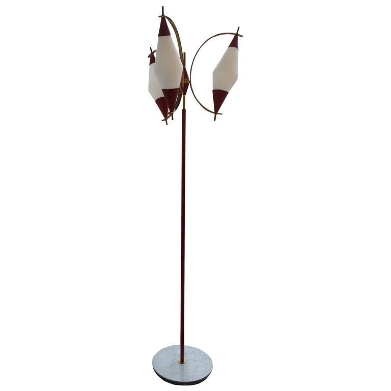 Italian Floor Lamp by Stilnovo