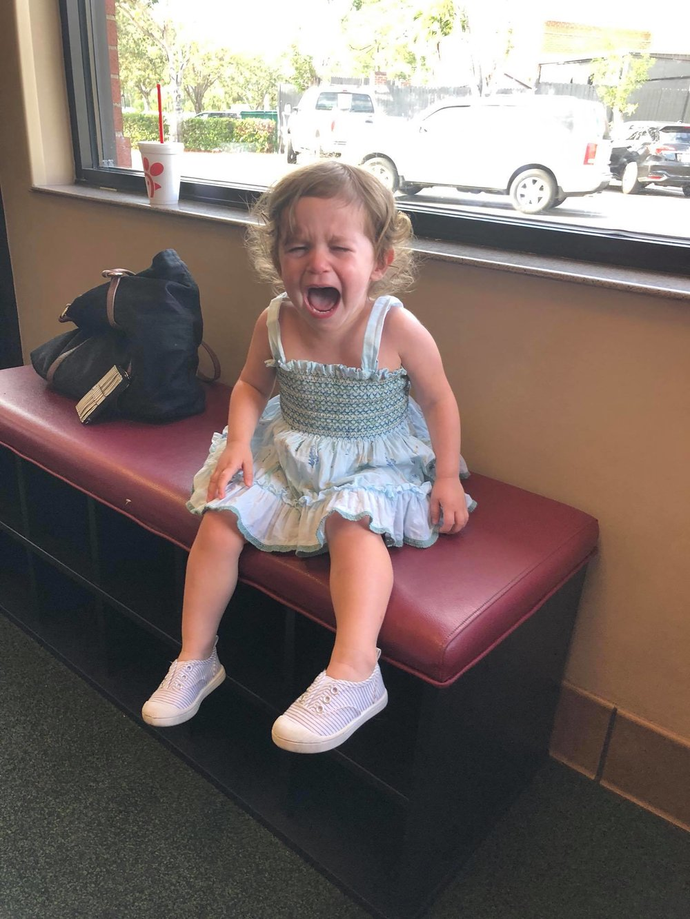 """""""I am 2. I am not terrible…I am frustrated. I am nervous, stressed out, overwhelmed, and confused. I need a hug.""""  From the diary of a 2-year-old:  Today I woke up and wanted to get dressed by myself but was told """"No, we don't have time, let me do it.""""  This made me sad.  I wanted to feed myself for breakfast but was told, """"No, you're too messy, let me do it for you.""""  This made me feel frustrated.  I wanted to walk to the car and get in on my own but was told, """"No, we need to get going, we don't have time. Let me do it.""""  This made me cry.  I wanted to get out of the car on my own but was told """"No, we don't have time, let me do it.""""  This made me want to run away.  Later I wanted to play with blocks but was told """"no, not like that, like this…""""  I decided I didn't want to play with blocks anymore. I wanted to play with a doll that someone else had, so I took it. I was told """"No, don't do that! You have to share.""""  I'm not sure what I did, but it made me sad. So I cried. I wanted a hug but was told """"No, you're fine, go play"""".  I'm being told it's time to pick up. I know this because someone keeps saying, """"Go pick up your toys.""""  I am not sure what to do, I am waiting for someone to show me.  """"What are you doing? Why are you just standing there? Pick up your toys, now!""""  I was not allowed to dress myself or move my own body to get to where I needed to go, but now I am being asked to pick things up.  I'm not sure what to do. Is someone supposed to show me how to do this? Where do I start? Where do these things go? I am hearing a lot of words but I do not understand what is being asked of me. I am scared and do not move.  I lay down on the floor and cry.  When it was time to eat I wanted to get my own food but was told """"no, you're too little. Let me do it.""""  This made me feel small. I tried to eat the food in front of me but I did not put it there and someone keeps saying """"Here, try this, eat this…"""" and putting things in my face.  I didn't want to eat anymore. This made """