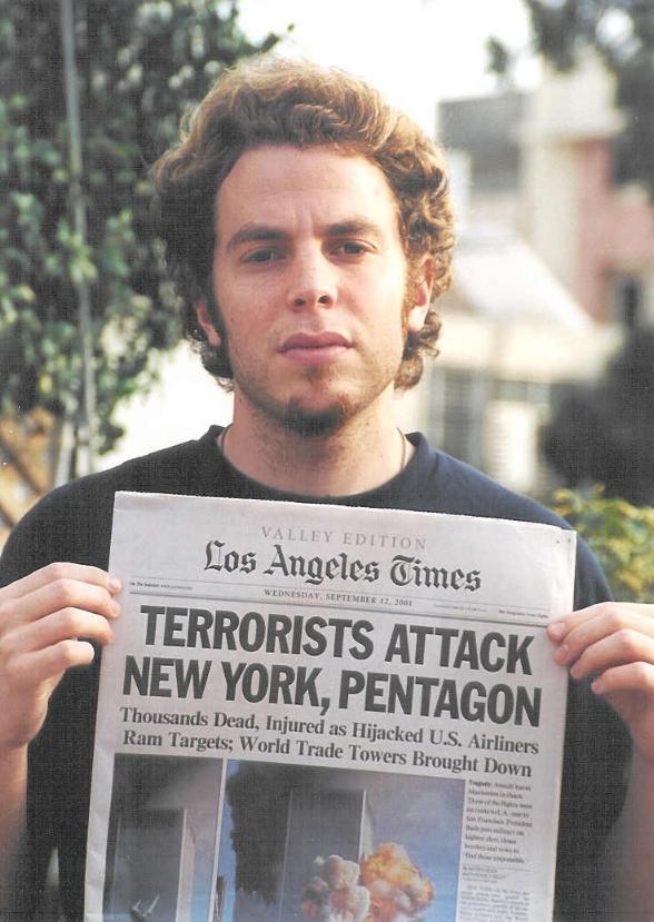 Terrorists Attack New York, Pentagon, Los Angeles Times, 2001,  C-Print, Sizes Vary.