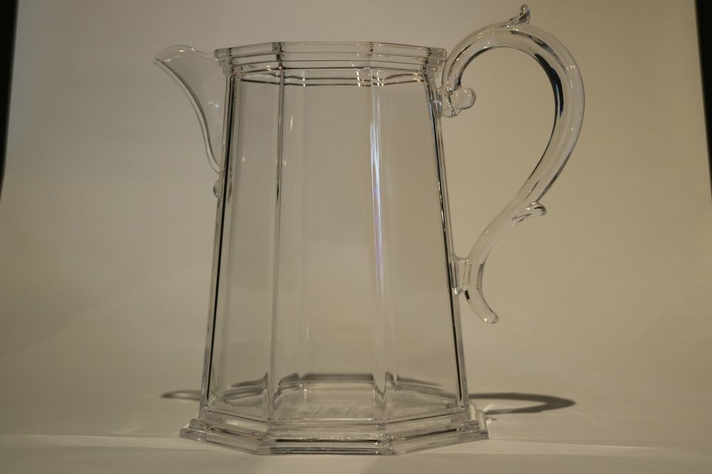 Italian Synthetic Crystal Jugs