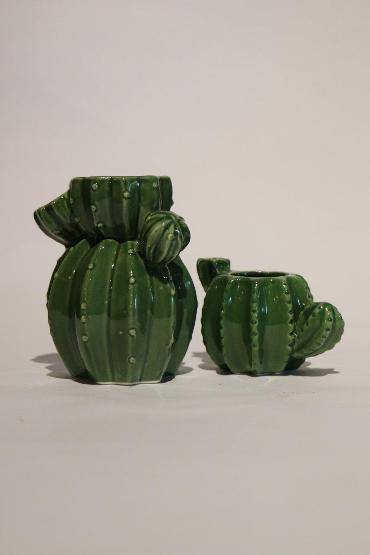 Pottery Cactus Pots