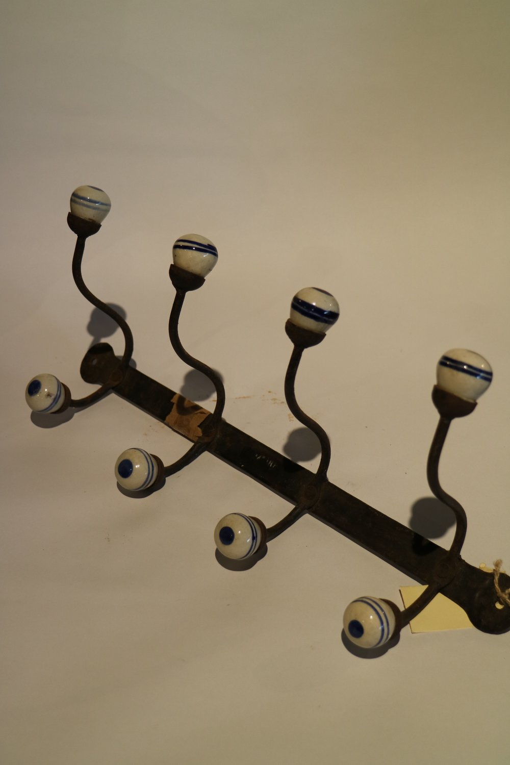 Glazed Pottery Coat Hooks