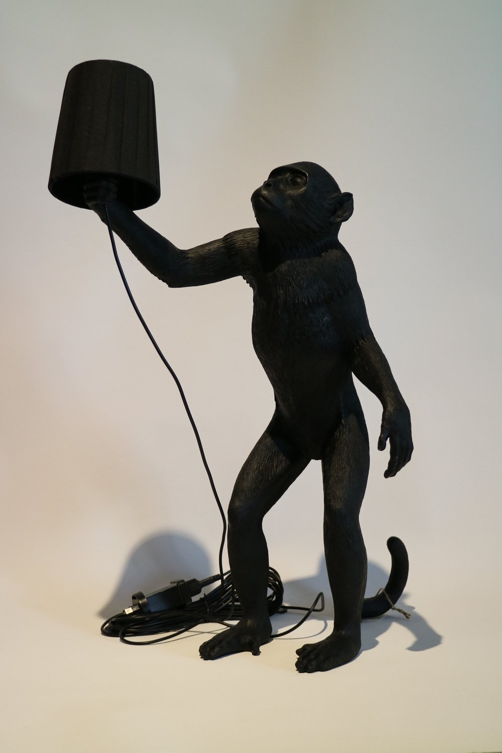Monkey Lamp, Black
