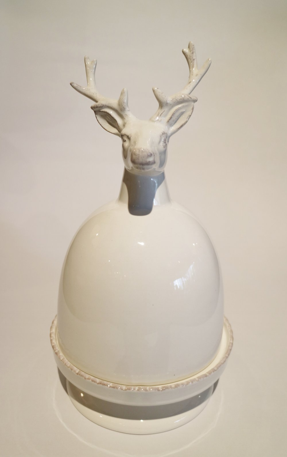 Deer Head Butter Plates