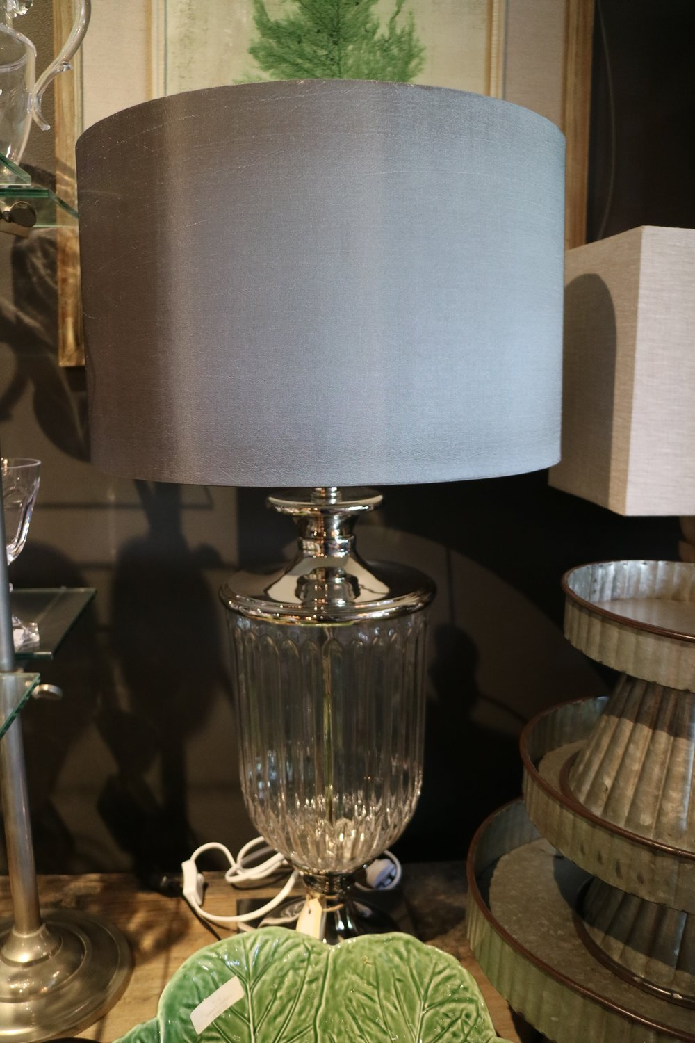 Glass & Chrome Lamps