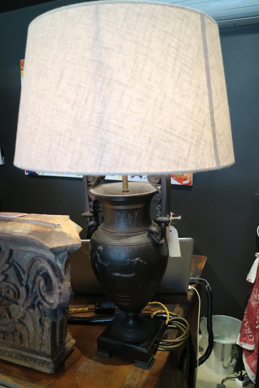 Antique Greek-o-roman Iron Lamps