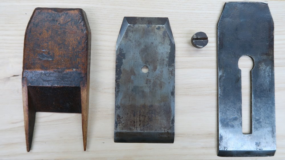 Wedge, chip-breaker and iron.