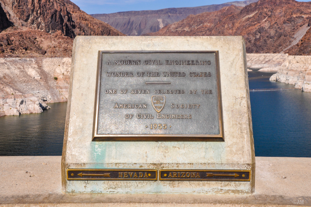 Standing in Nevada and Arizona.