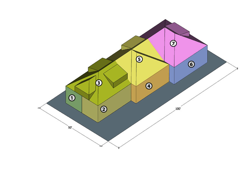 Axonometric diagram