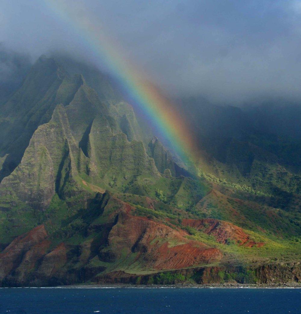 Rainbow on Kaua'i, Hawai'i