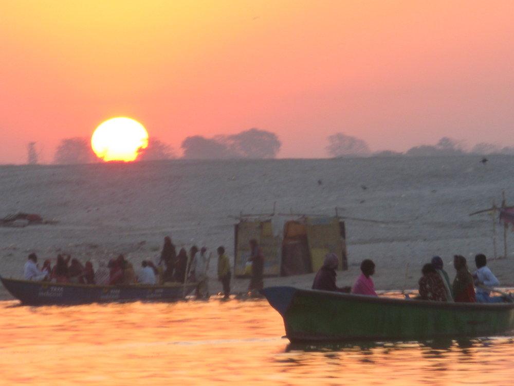 India at dusk