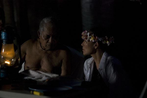 """With my mentor, Grandmaster Navigator Pius """"Mau"""" Piailug"""