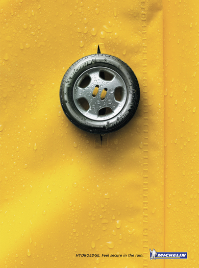COPY: HYDRO EDGE. FEEL SECURE IN THE RAIN.
