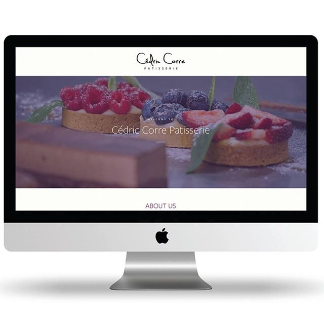 Cedric Corre Patisserie's site now looks as good as his artisan French desserts taste. www.cedriccorre.com.au #eyecandy #willworkfordessert #bythehuntinghouse