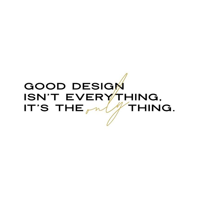 #ourphilosophy #graphicdesign #gooddesign #contemporarydesign