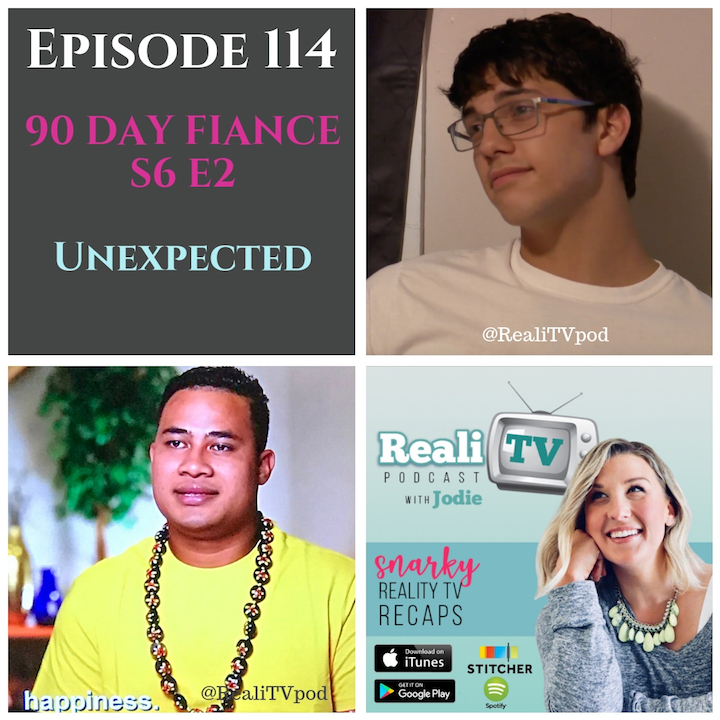 Episode 114 11.01.18 - 90 Day Fiance continues to knock my freaking socks off, along with Colt's British Knight cross-trainers. This week we meet a new couple which happens to be teen parents so you know this dumpster is going to be LIT. Can I pass as a mil yet? Over on Unexpected, Diego smirks his way into the depths of hell while Grandpa Tim feels like the walls of said hell are closing in on him. Nothing ruins a good fried shrimp Sunday dinner like another UNEXPECTED surprise. Ba dum bum, ching!My sponsor this week, POSHMARK, wants you to look good & save money!Shop www.poshmark.com with referral code REALITV for $5 off your purchase.