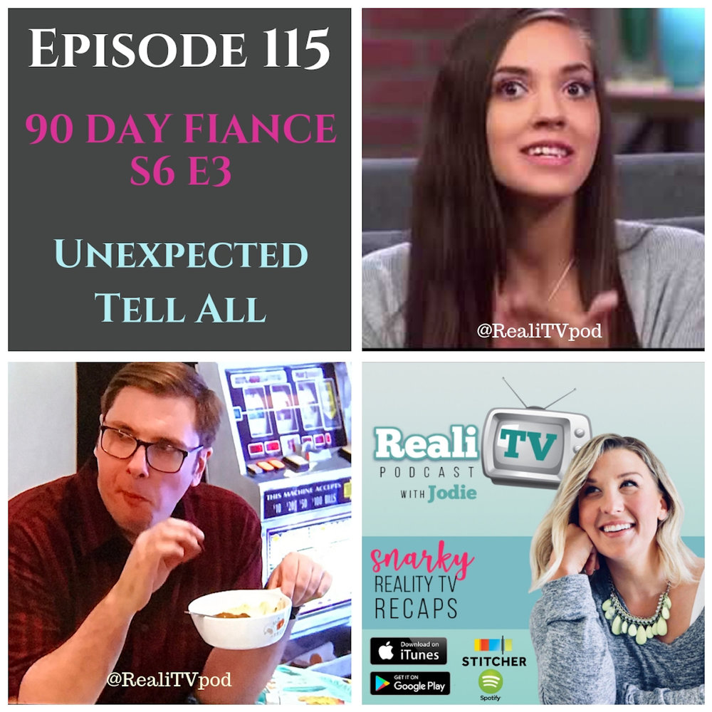 "Episode 115: 90 Day Fiance S6E3 & Unexpected 11.08.18 - I voted for more 90 Day Fiance! We start out this week with SKINZ, also known as the only man in the world who is confident enough to wear capris without shame. Colt's mother, Debbie, has a Jessie Spano moment and Eric manages to scrape a few dimes together to split a Philly cheesesteak 4-ways. Whatta catch, ladies! Ricki Lake arrives at the Unexpected Tell All wearing a Countess Luann statement necklace and I was cheering ""Go Ricki!"" like a good child of the 80s should. I had some changes of heart, some for the better and some for the worse (I'm looking at you, Chloe)…which leads to a certain couple to promise their own for better or worse! See what I did there?Shop www.poshmark.com with referral code REALITV for $5 off your purchase.Swap.com is the world's largest online consignment & thrift store. Save up to 35% on most items with code REALITV www.swap.comDon't forget to subscribe to Girl's Girls Podcast! Brittany & Meredith are waiting to have a glass of wine with you as they talk sex, friendship, fashion, parenting. It's not safe for work, which is the best kind of podcast!"