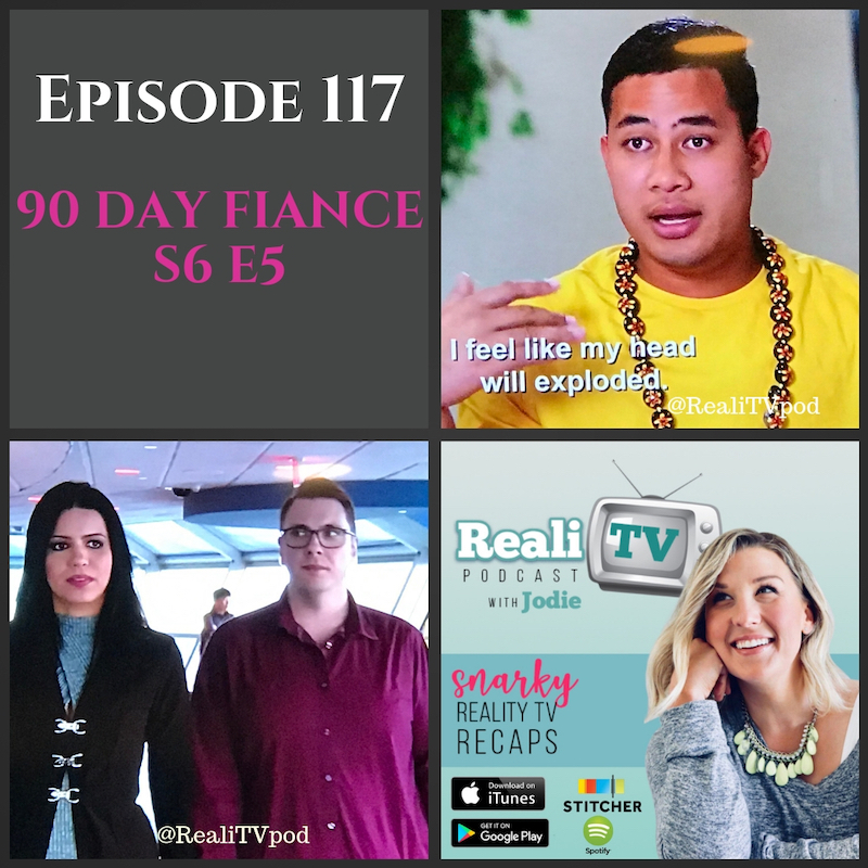 Episode 117: 90 Day Fiance S6 E5 11.22.18 - This week on 90 Day Fiance, Steven takes first place as the biggest asshole in Russia. He ousted Putin and took 1st place, he's just that bad. Meanwhile, Larissa channels Teresa Guidice and scores herself a diamond ring. Too bad it won't keep your ass crack from sweating though, Sweetie! NEWS FLASH…Join Patreon now until 12/15/18 & I'll mail you a STAY SALTY keychain. It's my version of Darcey's appreciation ring for supporting RealiTV so I can keep bringing you free weekly podcasts :)Happy Thanksgiving!Shop www.poshmark.com with referral code REALITV for $5 off your first purchase.Subscribe to Girl's Girls Podcast wherever you listen now!