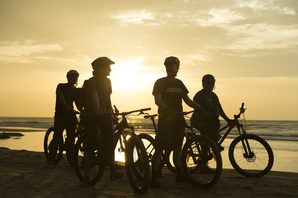 SUNSET BEACH RIDE -