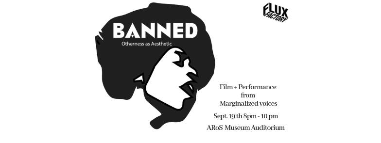 A night of performance and films focusing on the experiences of marginalized and minority groups in predominately white spaces.   This event will be taking place on the 3rd floor of the ARoS museum in the Auditorium.   Featuring work from   Audience Member Fouroseven  aka Sall Lam Toro  Abang-guard ( Maureen Catbagan  &  Jevijoe Vitug Theabangguard ) Anita Beikpour Britt Sankofa Maya Quattropani  With performances by  Kalon Hayward  Monique Muse Dodd   Aysha Amin  Curator of Andromeda Gallery  Curated by  Monique Muse Dodd