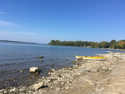Kayaking at Kill Kare State Park, St. Albans, Vermont