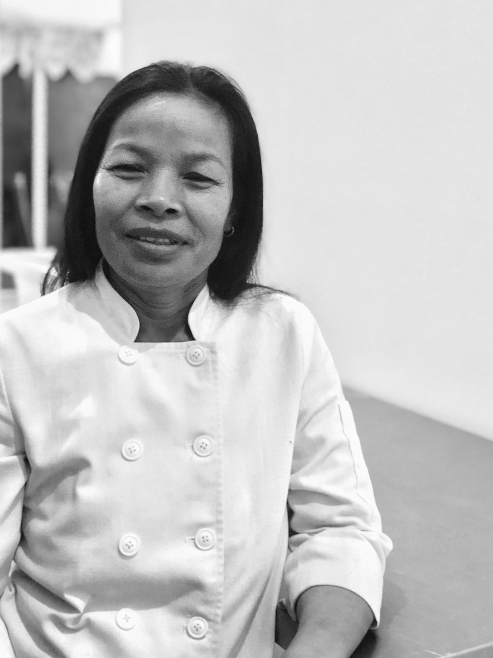 Born in Buri Ram Province of Thailand, Lek has been mastering her culinary skills for over 35 years.