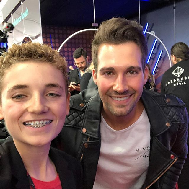 #selfie with @jamesmaslow 🔥🎵from #bigtimerush comment below if you remember #bigtimerush 👇👇🤳🤳