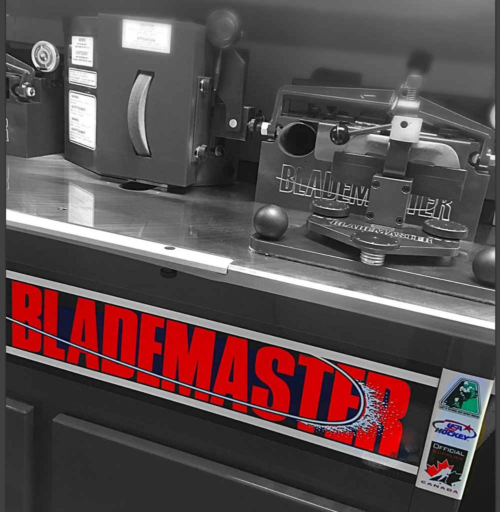 Black and white blade master