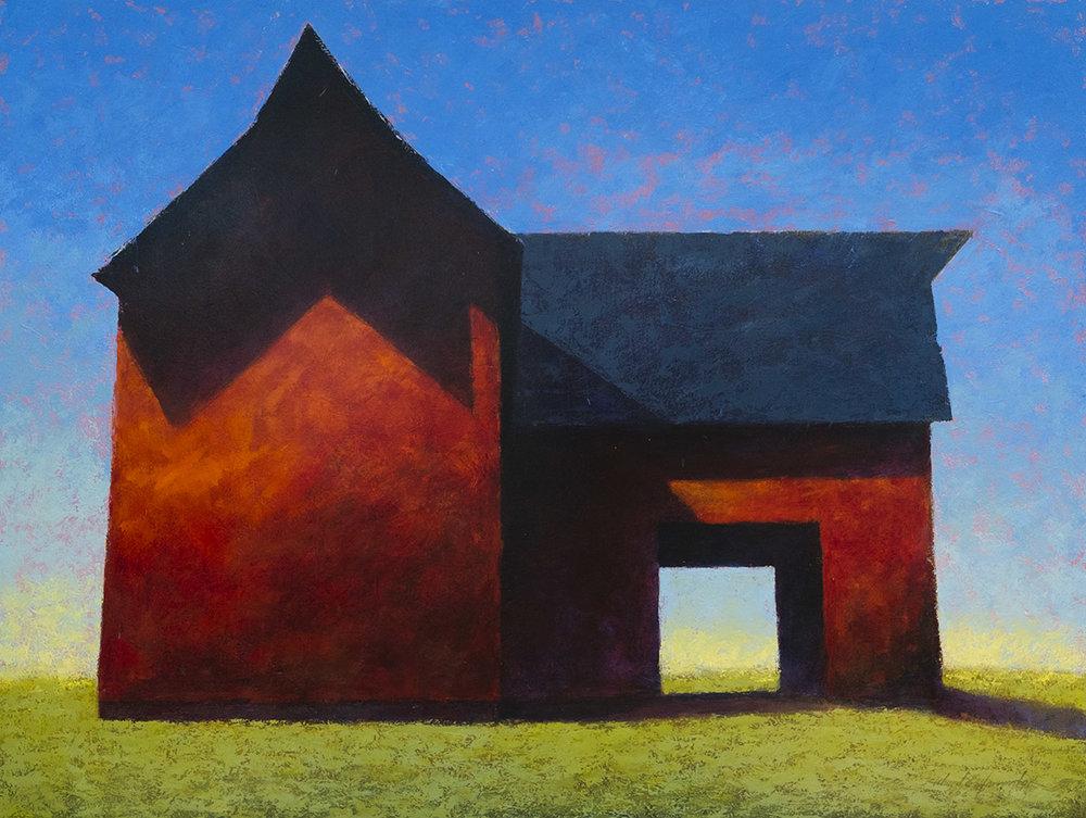 Morning Sun, 54 x 72, oil on canvas. Available through  Summit Gallery