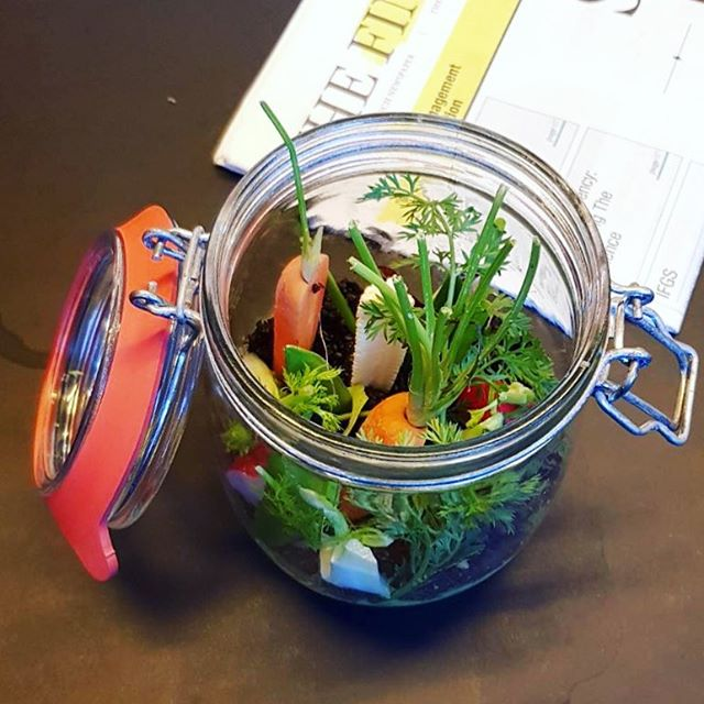 "This is ""Vegetables in Soil"" - one of Gayhurst Community School's signature dishes.  In our pilot in three primaries we have proved that we can serve better food for less money, while engaging and inspiring children. . . If you are a chef or a school and would like to be involved, sign up at chefsinschools.org.uk #ChefsInSchools #BetterIsPossible"