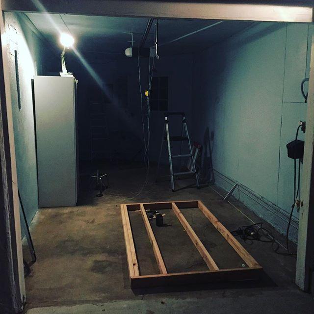 New studio build part 1. #studio #music #composer