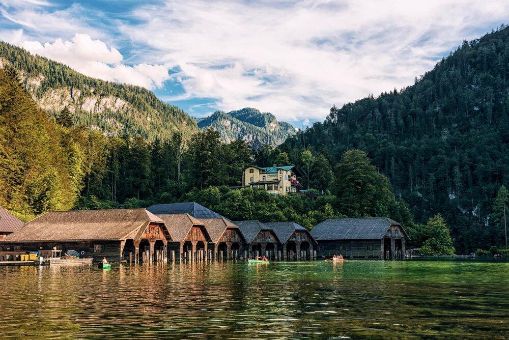 Konigssee ,germany -  אגם המלכים, גרמניה