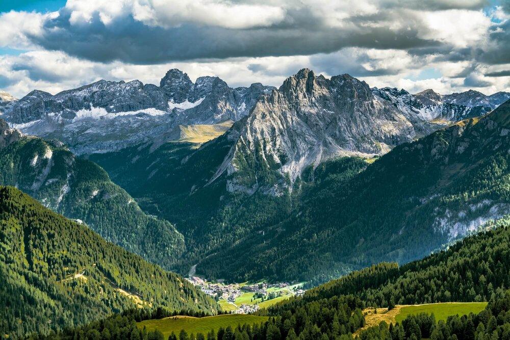 Dolomites alps, Italy האלפים הדולומיטים, איטליה