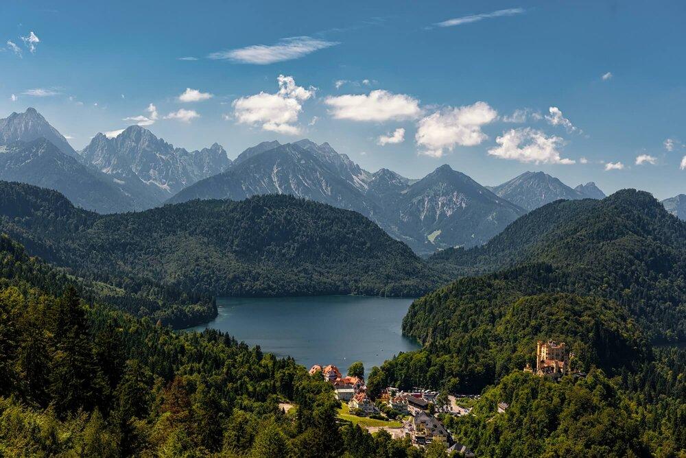 Alpsee, Germany אלפזה, גרמניה