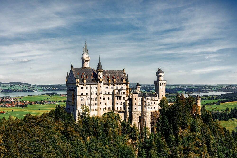 Schloss Neuschwanstein, Germany טירת הברבור, גרמניה