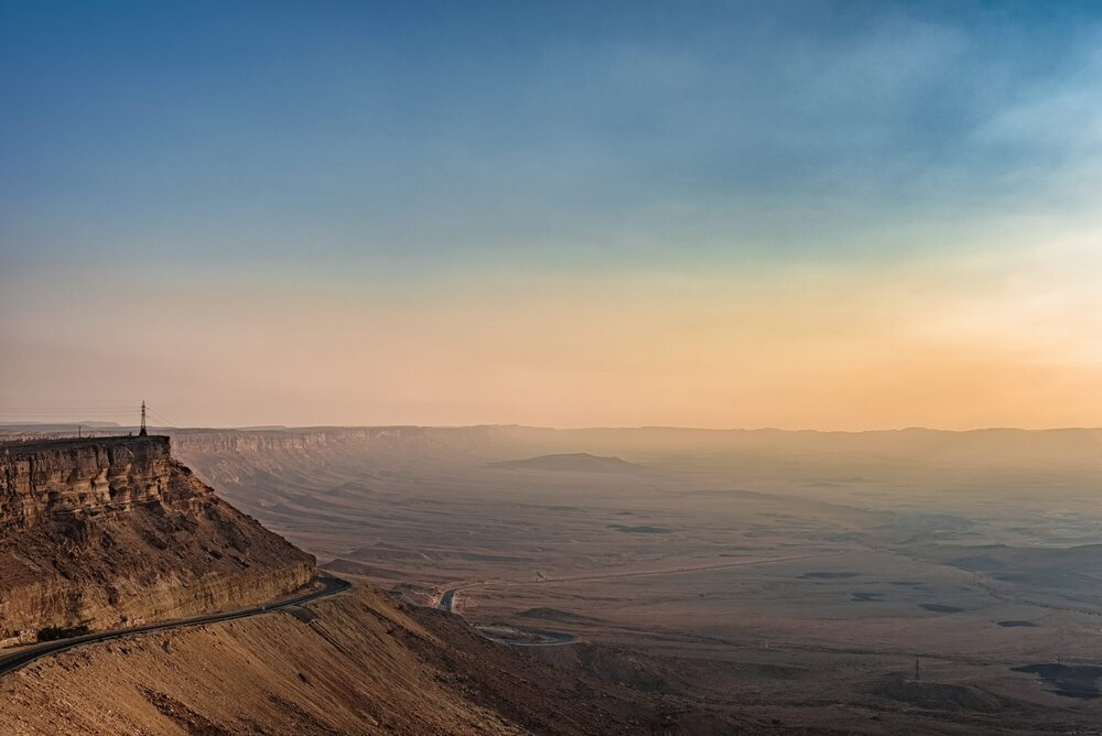 ramon crater, Israel - מכתש רמון, ישראל