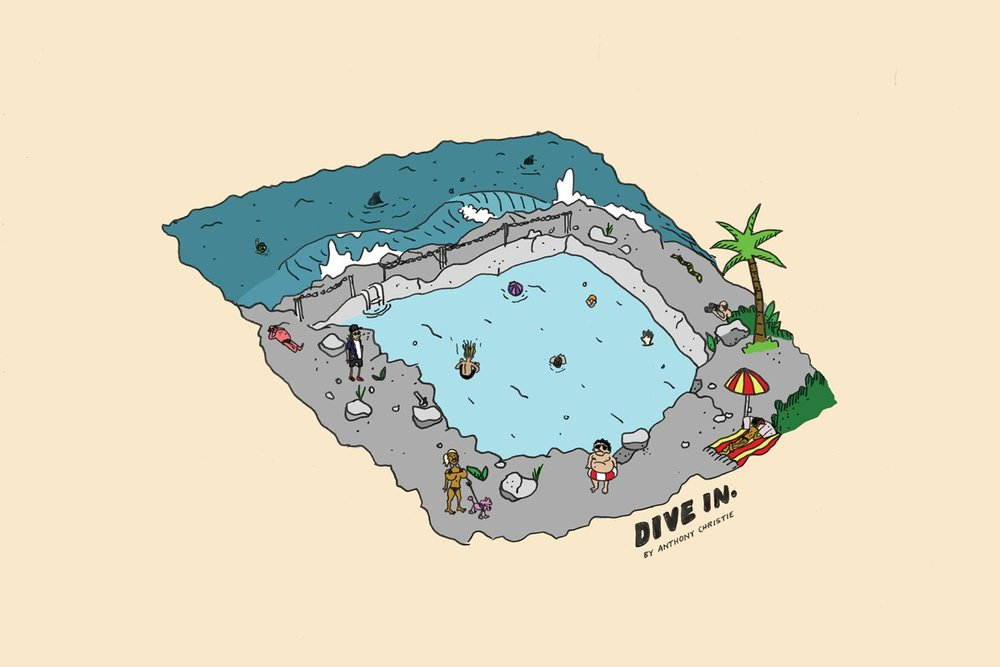 Dive In Illustration