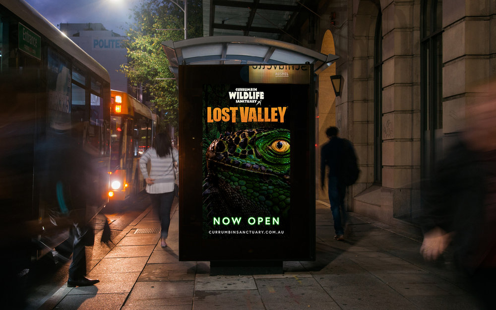 Lost Valley Bus Shelter