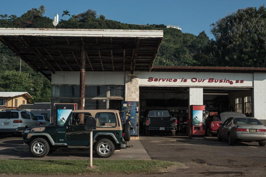 Pupakea garage