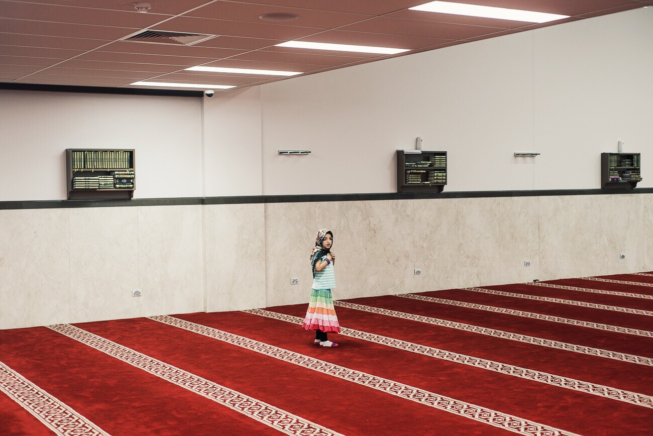 Muslim, Mosque, Sydney, Religion, White Coats, Danny Armstrong photography